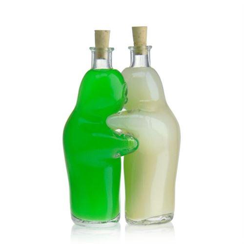 "100ml Bottiglia in vetro chiaro ""Spooky"""
