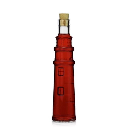 """100ml Klarglasflasche """"Leuchtturm"""""""