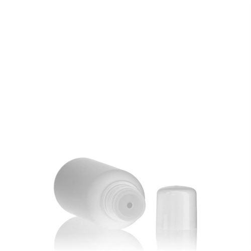 """100ml HDPE-flaske """"Tuffy"""" hvid med sprøjteindsats"""