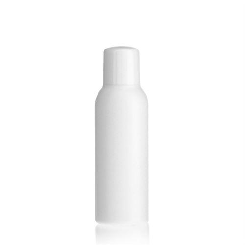 "100ml HDPE-fles ""Tuffy"" wit met doseerkop"