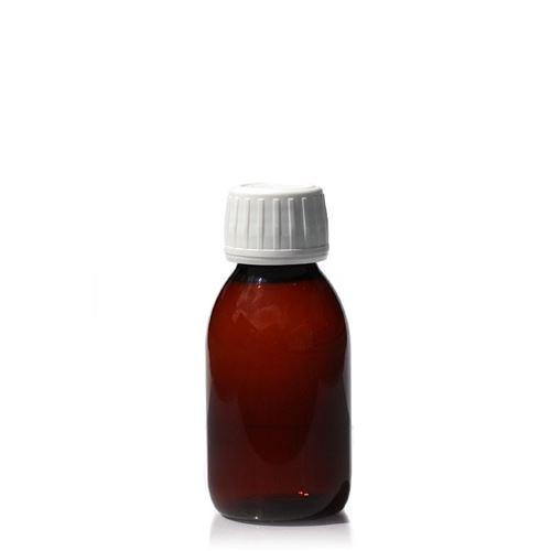 100ml PET-Flasche-braun