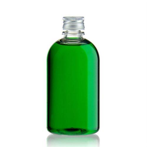 """100ml PET-flaske """"Easy Living"""", med aluminiumskruelåg, klar"""