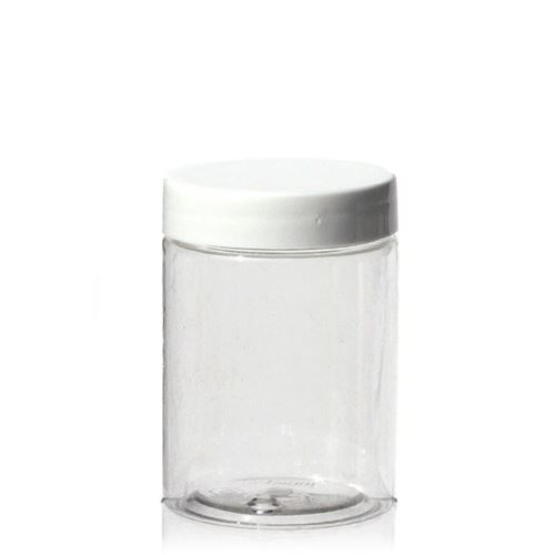 "100ml PET-pot ""Bella Mia Mini"" - schroefdeksel wit"
