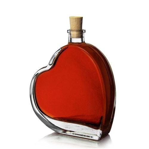 """100ml bottiglia a cuore """"Passione"""""""