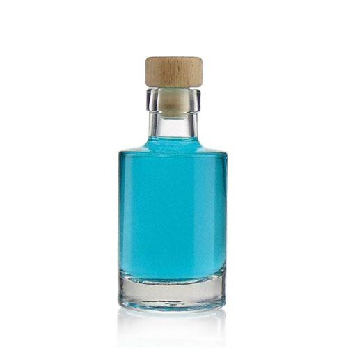 "100ml bottiglia in vetro chiaro ""Aventura"""