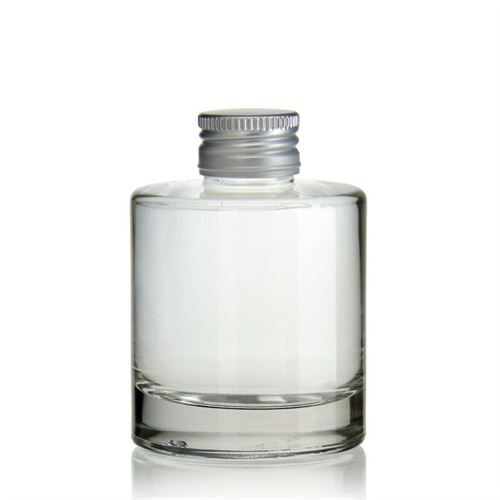 "100ml bottiglia in vetro chiaro ""Flamenco"""