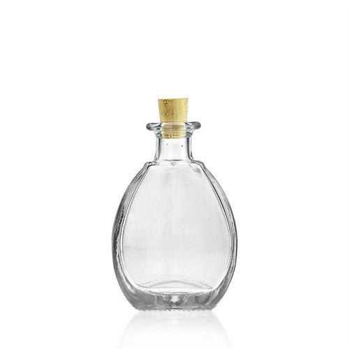 """100ml bottiglia in vetro chiaro """"Pablo"""""""