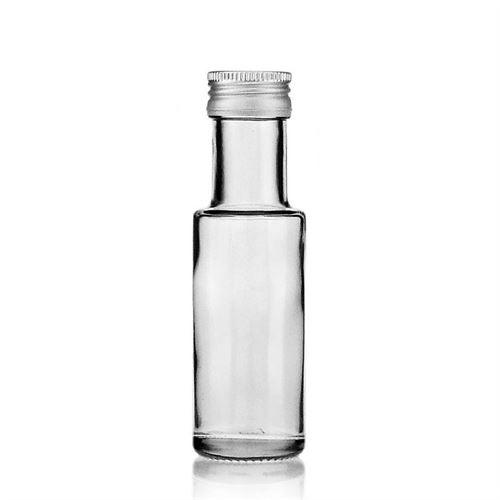 "100ml bottiglia in vetro chiaro ""Ronda"""