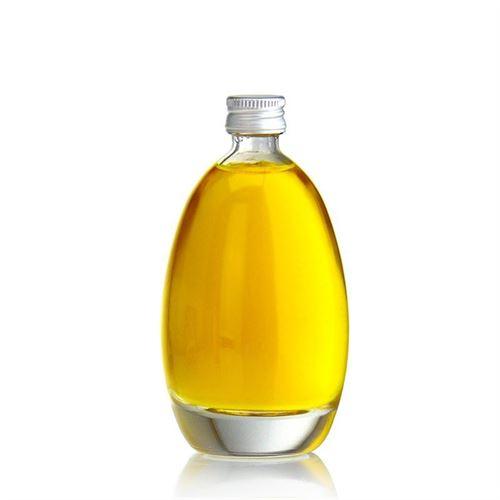 "100ml bottiglia in vetro chiaro ""Uovo"""
