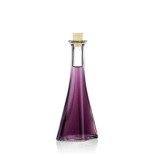 """100ml bottiglia in vetro chiaro """"Veronica"""""""