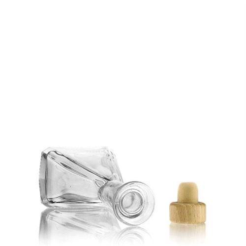 """100ml bouteille en verre clair """"Magic"""""""