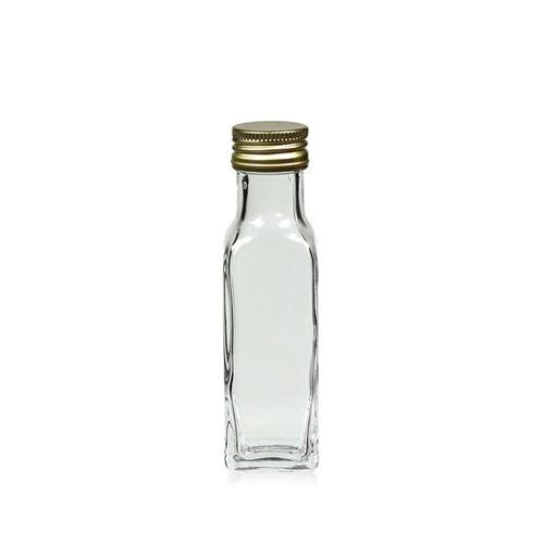 """100ml bouteille en verre clair """"Marasca"""""""