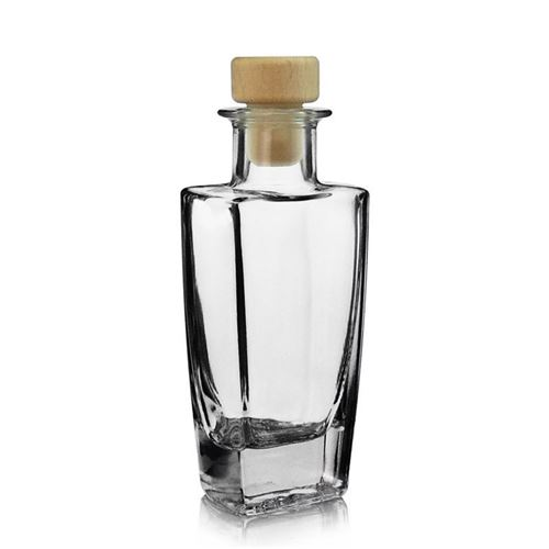 "100ml bouteille en verre clair ""Sissi"""