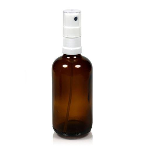 100ml braune Medizinflasche mit Sprühzerstäuber