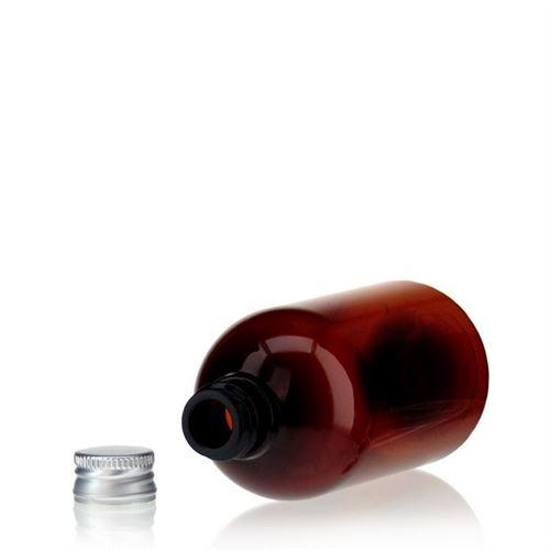 """100ml bruine PET-fles """"Easy Living"""""""