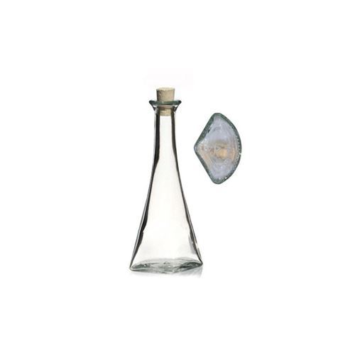 "100ml clear glass bottle ""Veronica"""