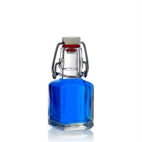 """100ml flaske med patentlåg """"Cubica"""""""