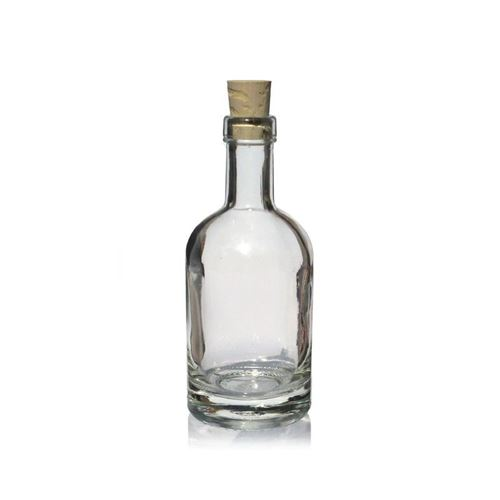 "100ml glazen fles clear ""Linea Uno"""