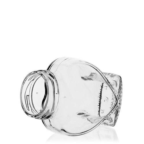 106ml Herzglas mit Twist Off 43