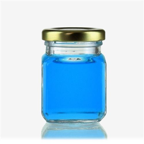 "106 ml firkantet glas ""Montana"""