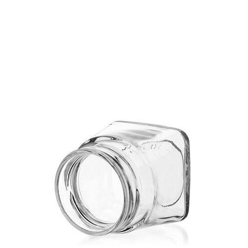 "106ml vasetto in vetro designer rettangolare ""Luxor"""