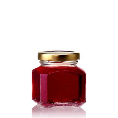 """106ml rectangular design jar """"Milan"""""""
