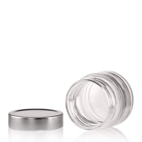 "106ml round design jar ""Albatros"""