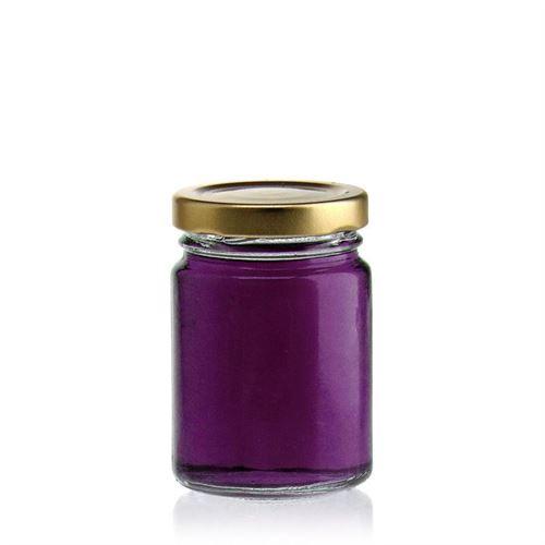 106ml round jar with Twist Off 48