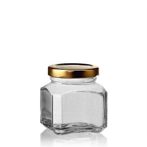 "106ml vasetto in vetro designer rettangolare ""Milano"""