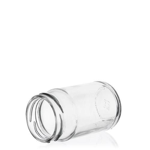 107ml vasetto alto in vetro rotondo con tappo Twist Off 48