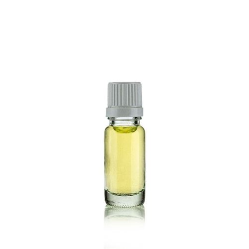 10ml clear medicine bottle with drip closure