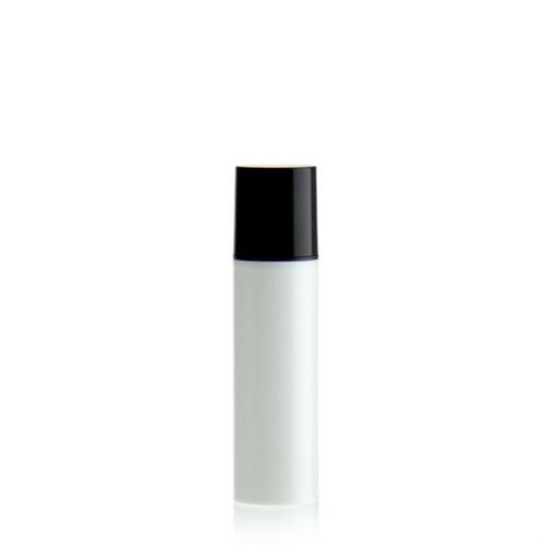 10ml airless pump NANO white/black