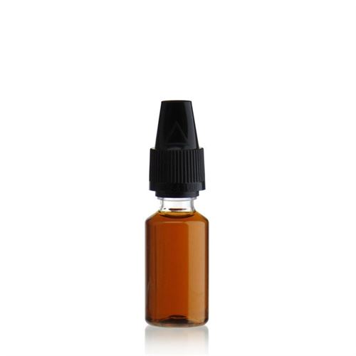 """10ml Bottiglia PET """"E-Liquid"""" nero"""