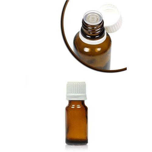 10ml braune Medizinflasche mit Tropfverschluss