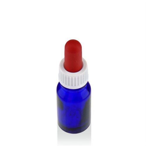 10ml bottiglia in vetro per medicina blu con pipetta