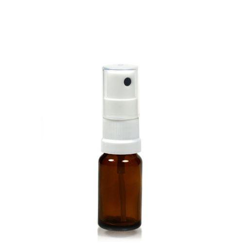 10ml bottiglia medica marrone con erogatore spray