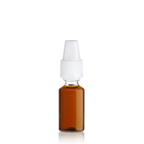 "10ml bouteille PET ""E-Liquid"" blanc"