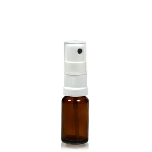 10ml brown medicine bottle with nozzle system