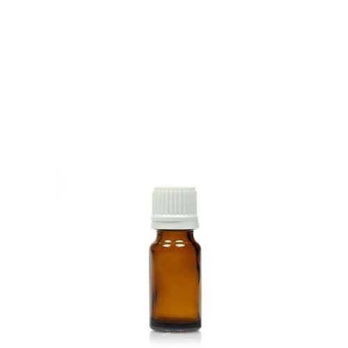 10ml bruin medicijn flesje met originaliteits sluiting