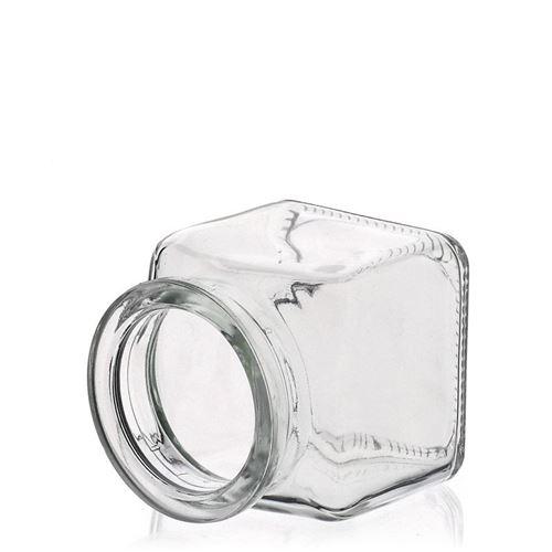120ml rechteckiges Korkenglas