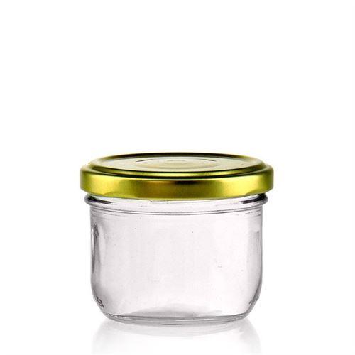 120ml straight jar with Twist Off 66
