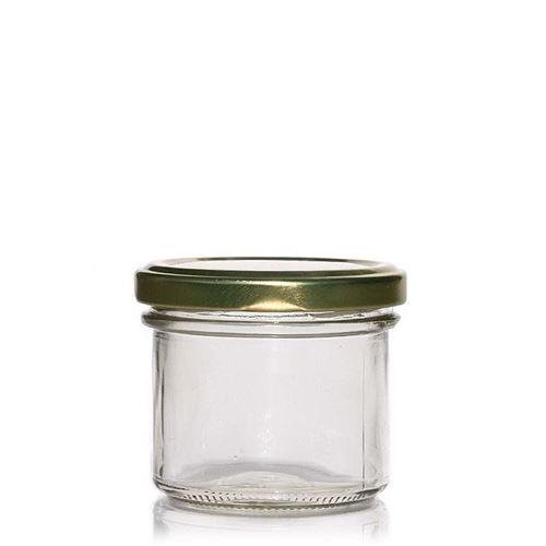 125ml Sturzglas mit Twist Off 66