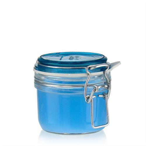 "125ml pot avec fermeture mécanique ""Rocco Azzurro"""