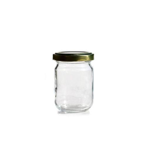 130ml Rundglas mit Twist Off 53