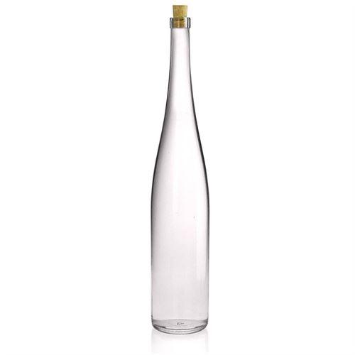 1500ml bottiglia in vetro chiaro per vino a forma del Reno