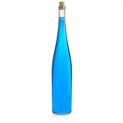 1500ml bouteille en verre clair forme vin du Rhin