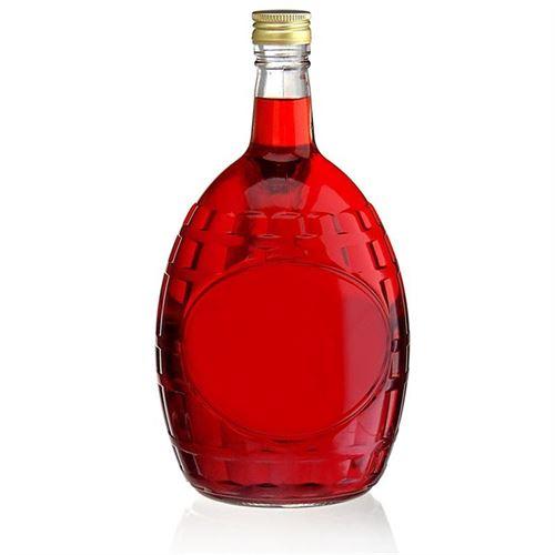 """1500ml flaske i glas med hanke """"Window"""""""