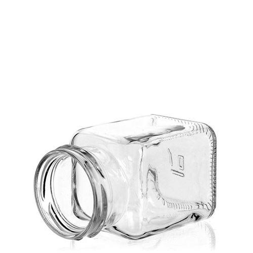 150ml Rechteckglas mit Twist Off 53