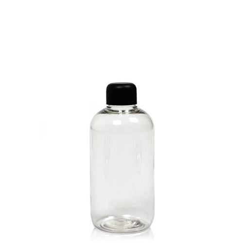 """150ml PET-Flasche """"Boston-Schwarz"""""""