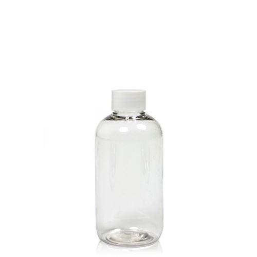 "150ml PET-flaske ""Boston"", hvidt"